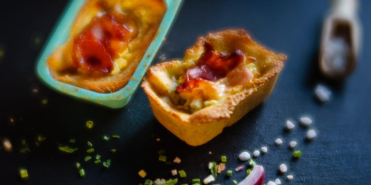 Rezept: Wie aus Teigtaschen herzhafte lowcarb Minikuchen wurden…
