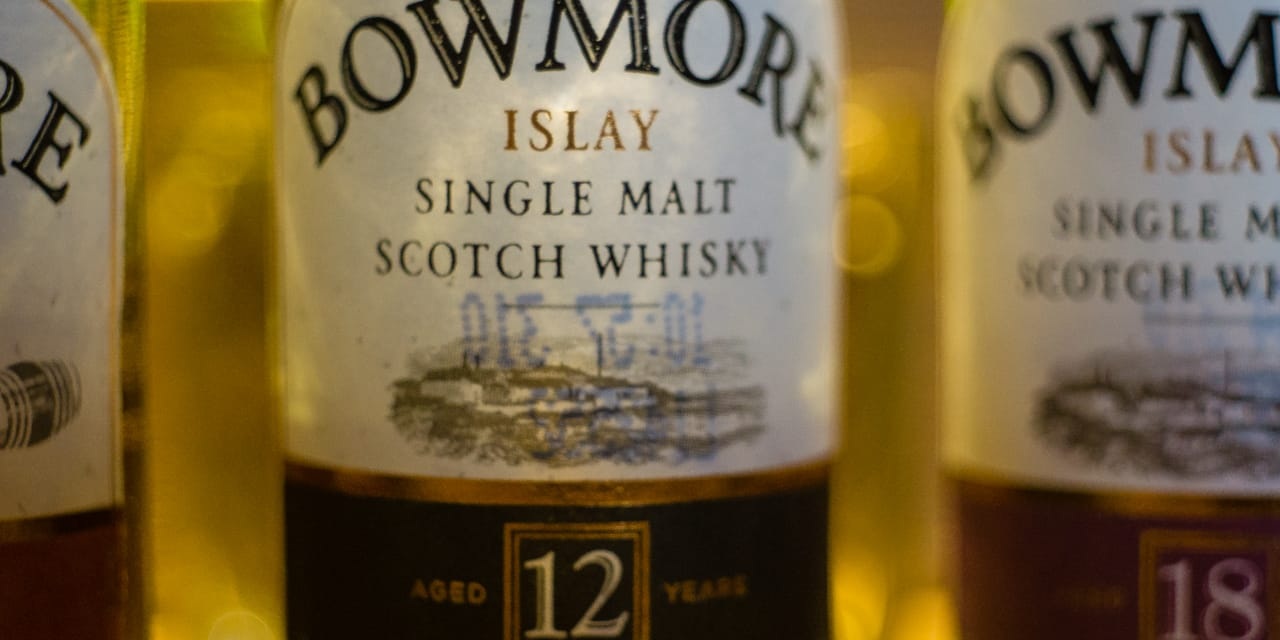 Whisky-Tasting: Bowmore 12years