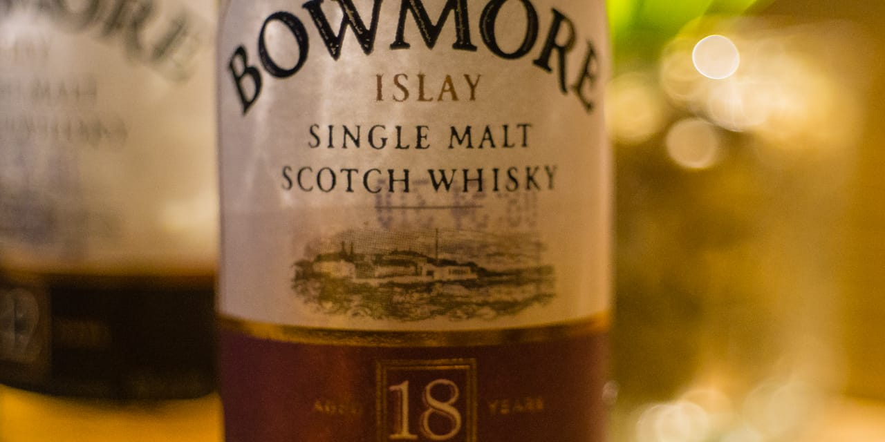 Whisky-Tasting: Bowmore 18years