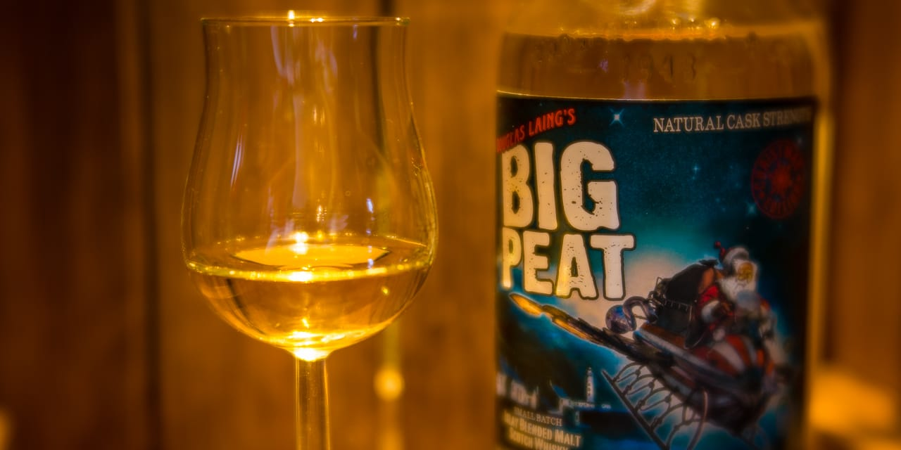 Whisky-Tasting: Big Peat Christmas Edition 2015