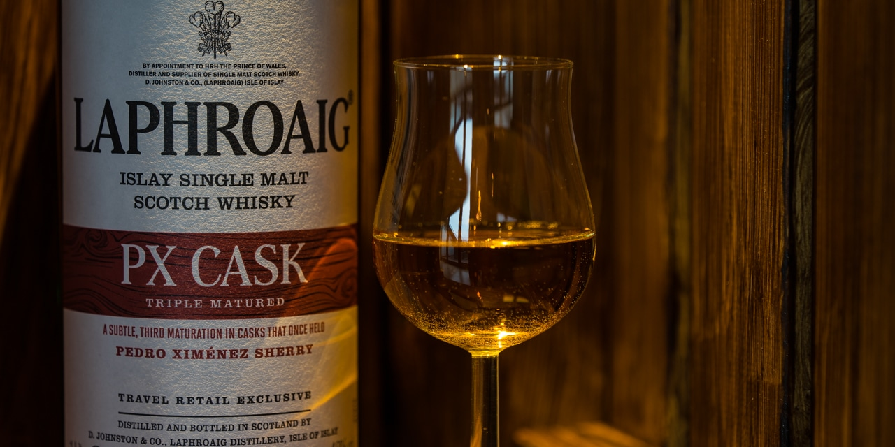 Whisky-Tasting: Laphroaig PX Cask