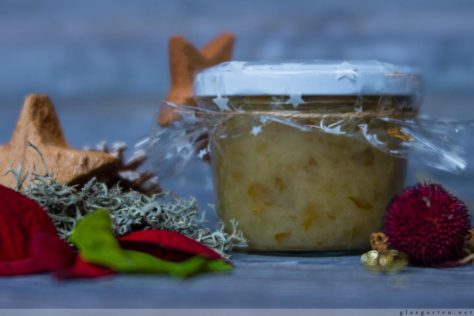 DIY ~ Geschenke aus der Küche: Birnen-Marzipan-Marmelade