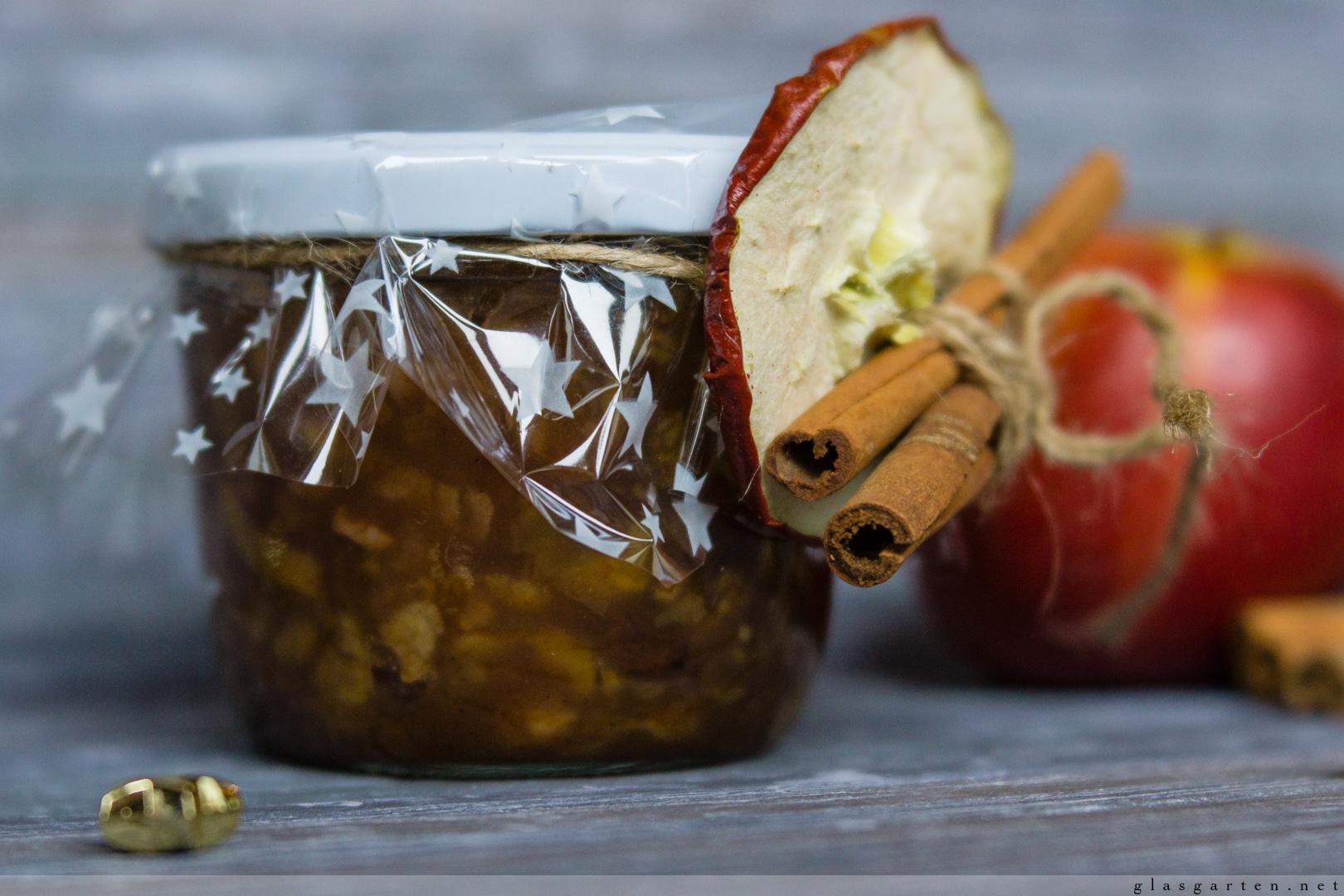 DIY ~ Geschenke aus der Küche: Bratapfel-Marmelade