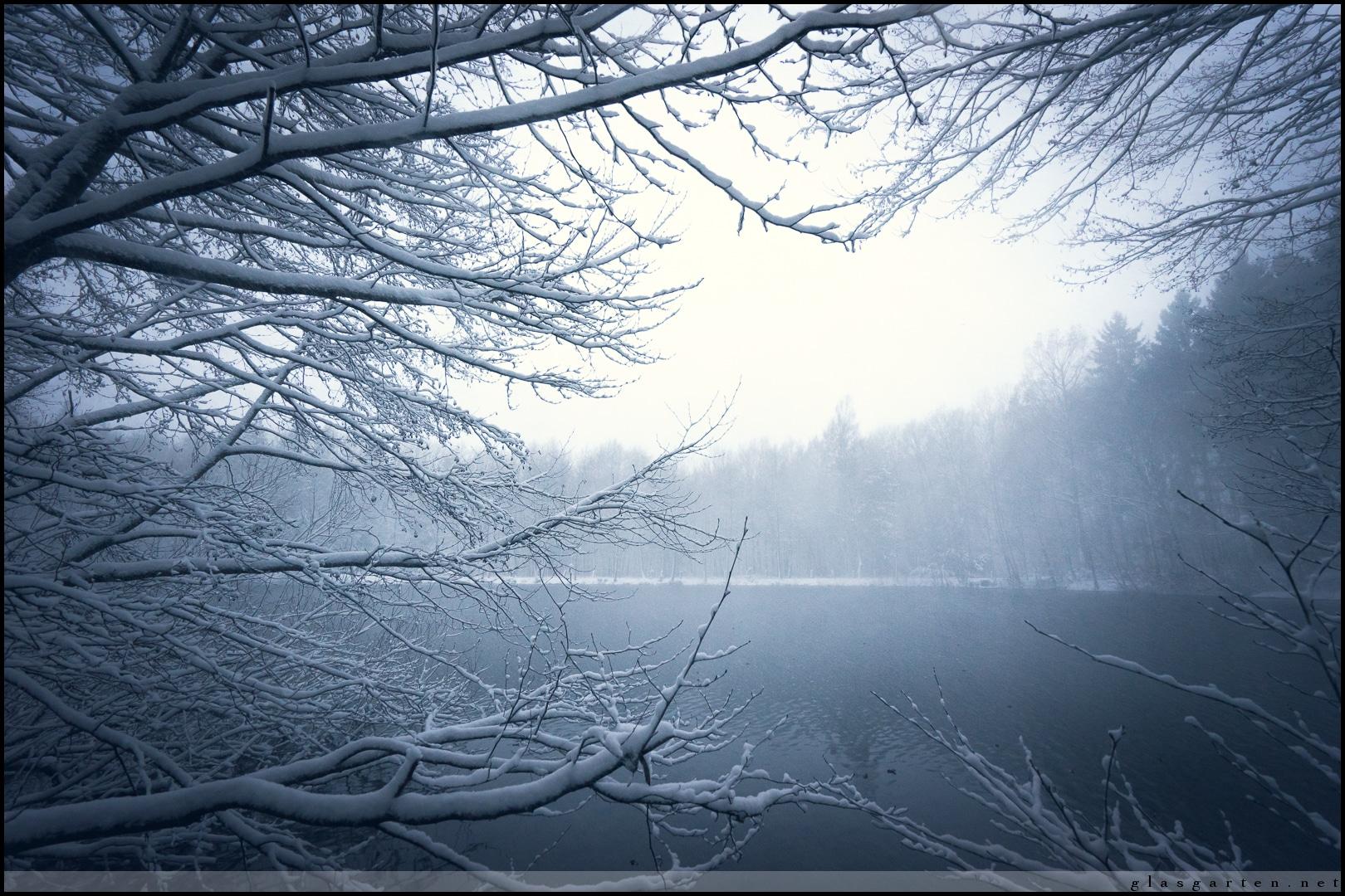 Winterwunderland Försterteiche Lemgo