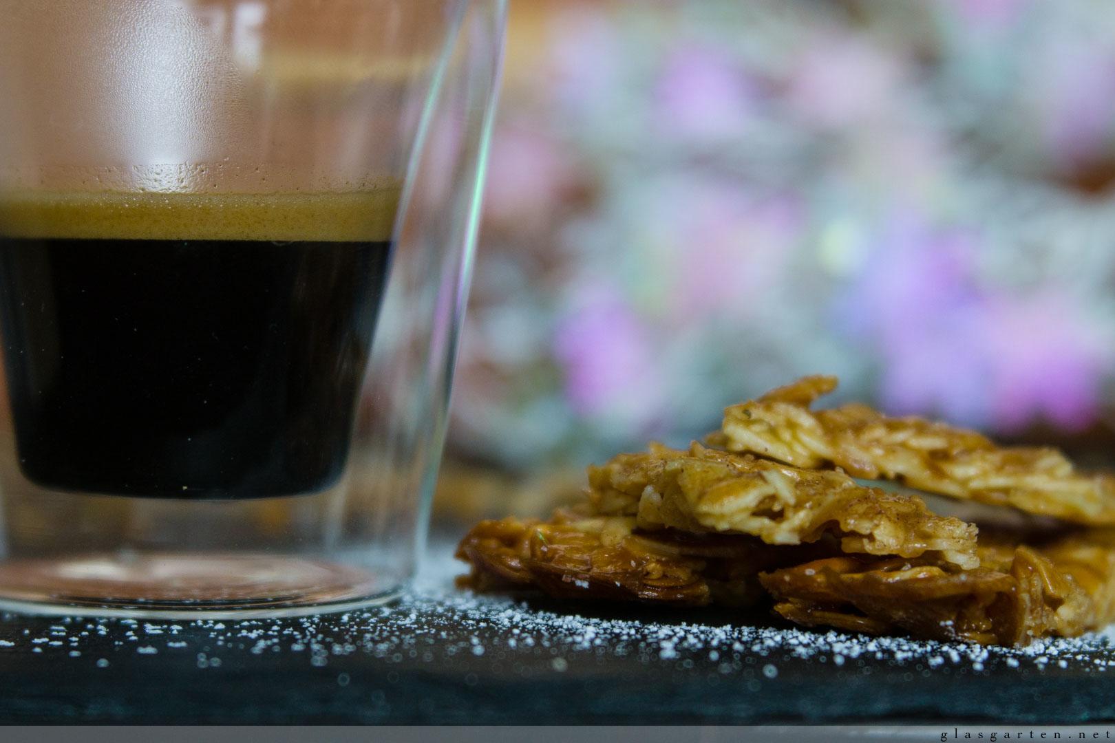 Weihnachtsbäckerei: Florentiner treffen auf gebrannte Mandeln