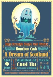 Brühler Whiskyhaus, Marco Bonn, Whisky, Whiskey, A Dream of Scotland, Caol Ila, Bourbon Cask, Single Malt, Fassstärke
