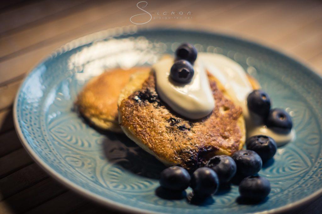 Pancake, Pfannkuchen, Lowcarb, low carb, wenig Kohlenhydrate, Rezept, Food, Foodblog, Essen, gesund, lecker, healthy, Blaubeeren,
